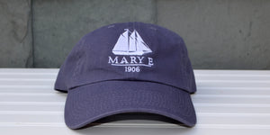 Blue Mary E Baseball Hat