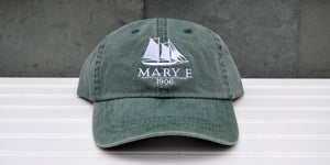 Green Mary E Baseball Hat