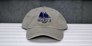 Khaki Mary E Baseball Hat