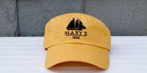 Yellow Mary E baseball hat