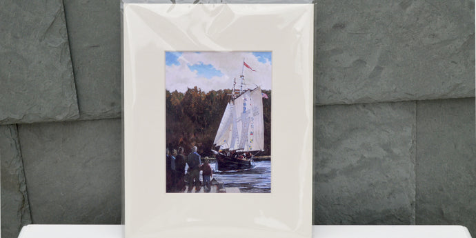 Return of the Mary E 8x10 Matted Print