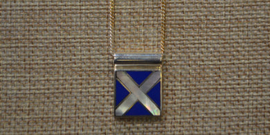 Signal Flag Necklace
