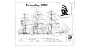 St. Paul sail and rigging plan