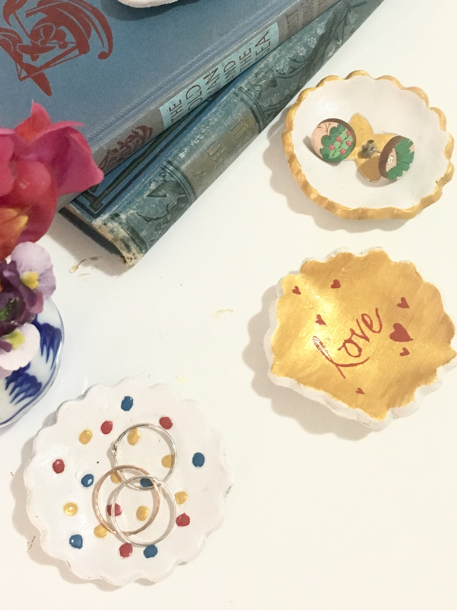 Dressed for Sunday Make Your Mum a Jewellery Trinket Dish DIY How To Mother's Day Gift