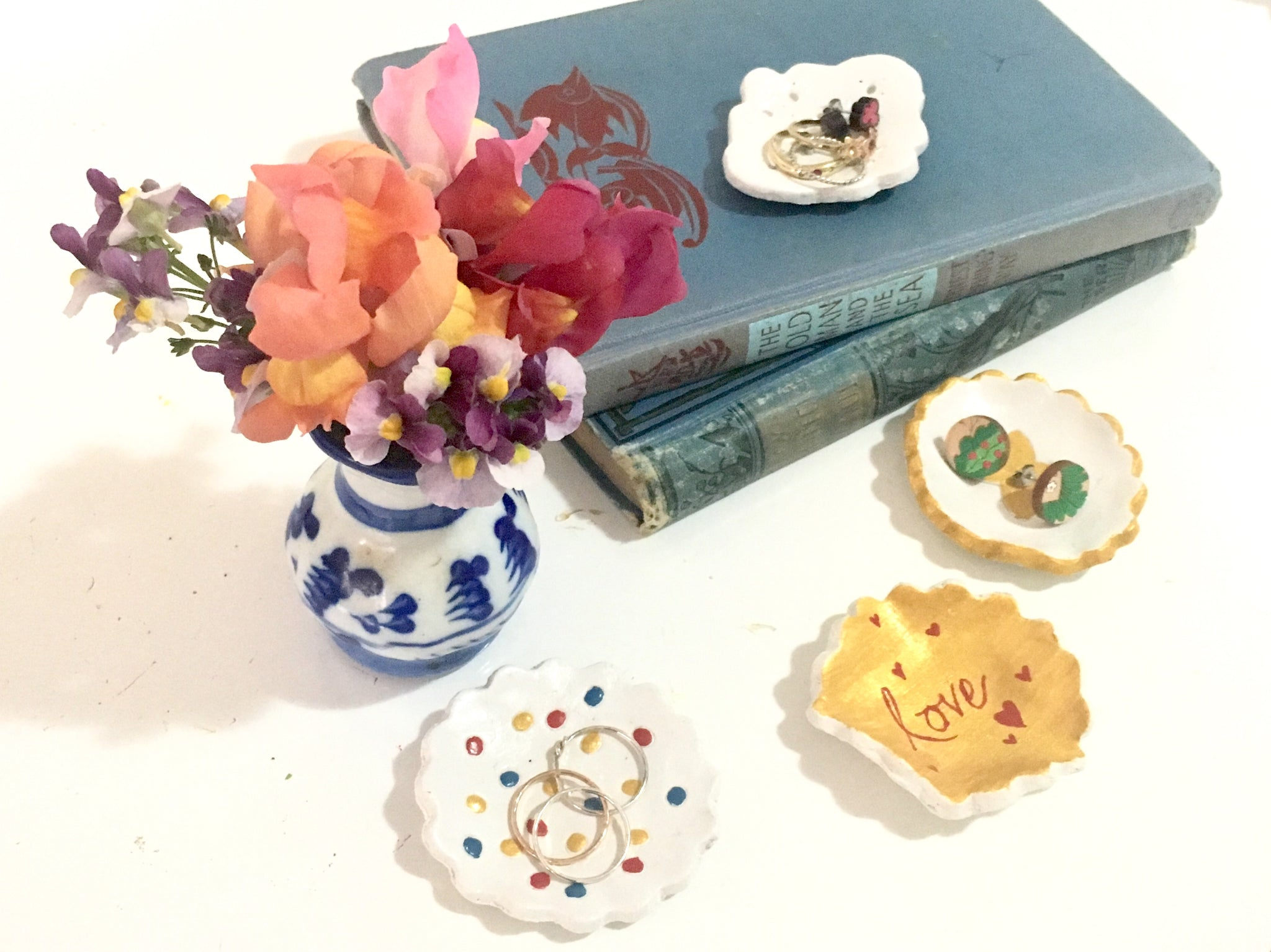 Dressed for Sunday Make a Jewellery Trinket Dish for Mother's Day DIY How To