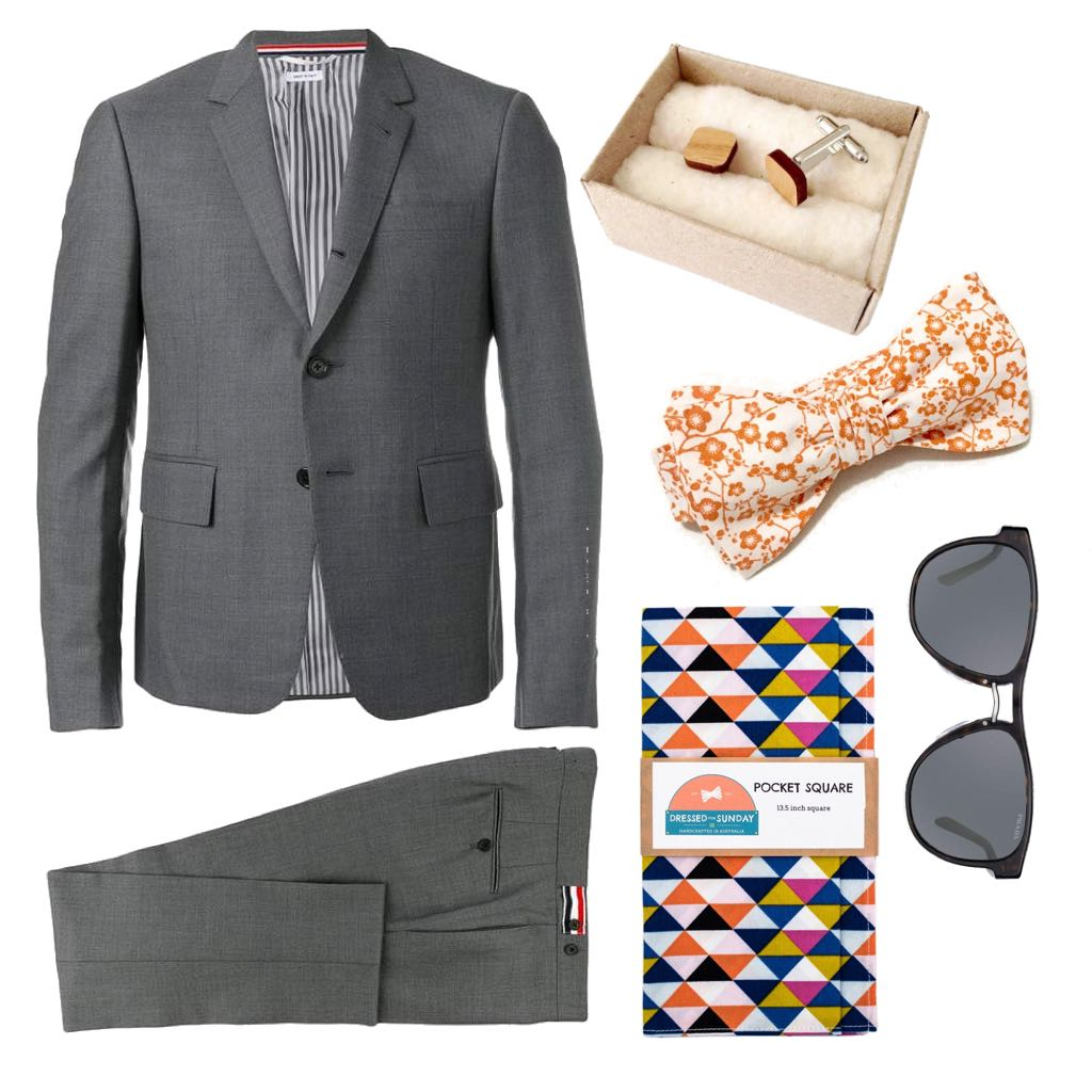 Dressed for Sunday Guide to Spring Weddings Mens Outfit Accessories