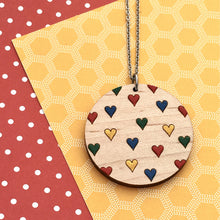 Load image into Gallery viewer, Everyday Confetti Round Necklace