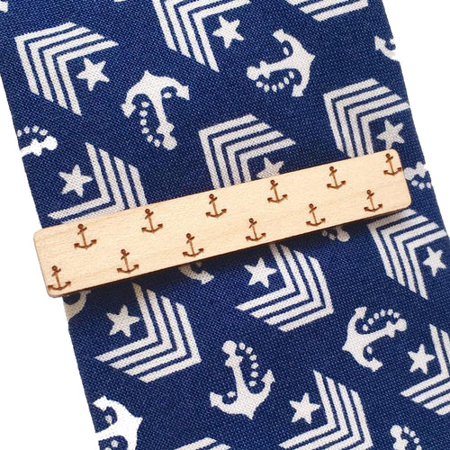 Dressed for Sunday Tie Bar in Anchor Vintage Inspired Canberra Handmade for the Dapper Gent