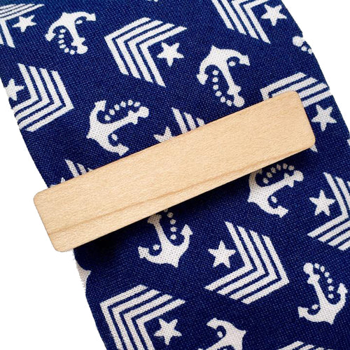 Dressed for Sunday Tie Bar in Plain Wood Maple Vintage Inspired Canberra Handmade for the Dapper Gent