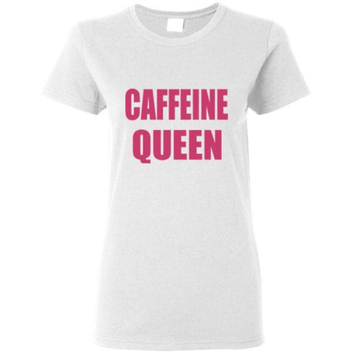 Caffeine Queen Shirt - White / S