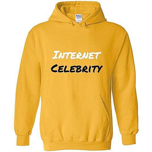 Celeb Hoodie - Gold / S