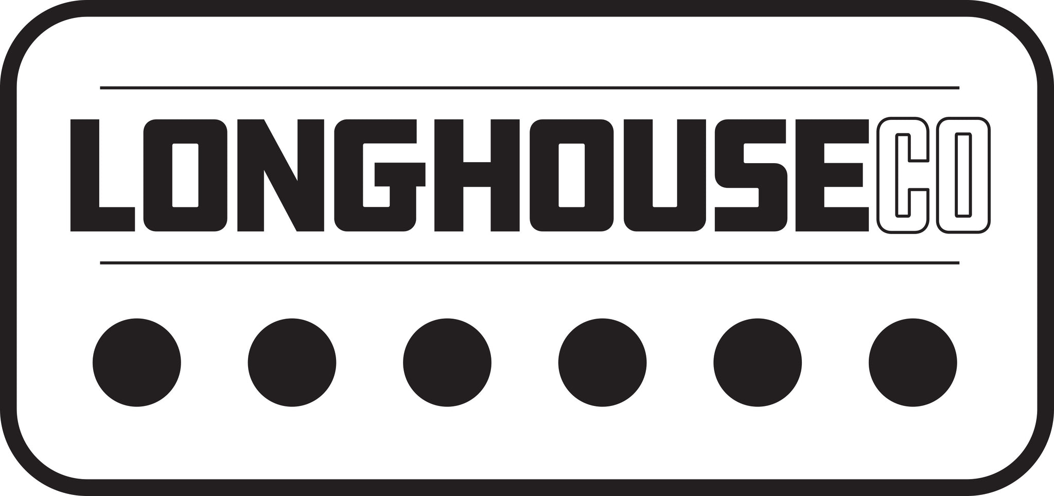 LonghouseCo Sticker and Button Pack