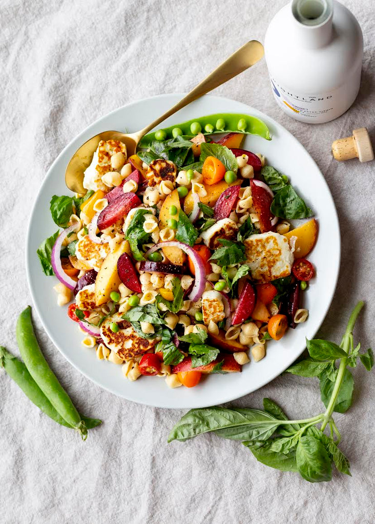A Nutritionist's Go-To Summer Pasta Salad