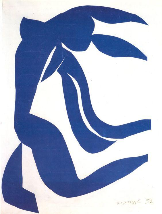 On the wall: Henri Matisse
