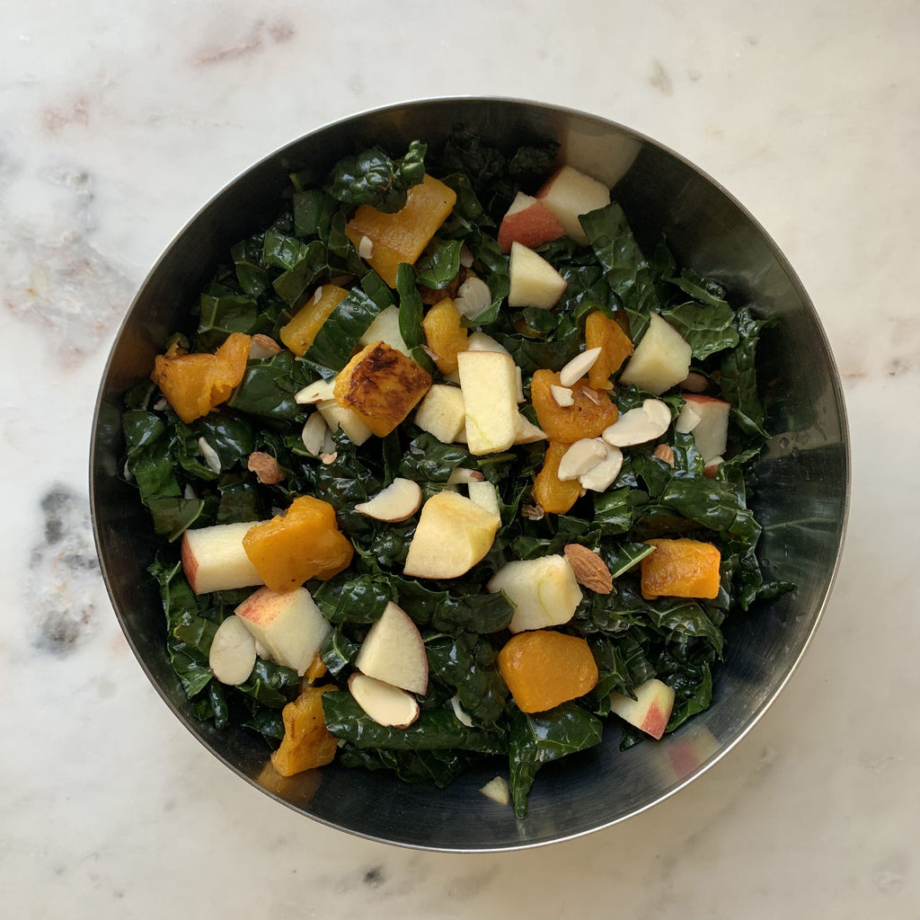 Sam's Easy Fall Kale Salad