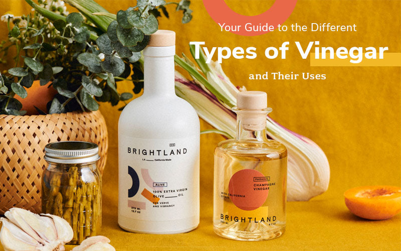 Your Guide to the Different Types of Vinegar and Their Uses