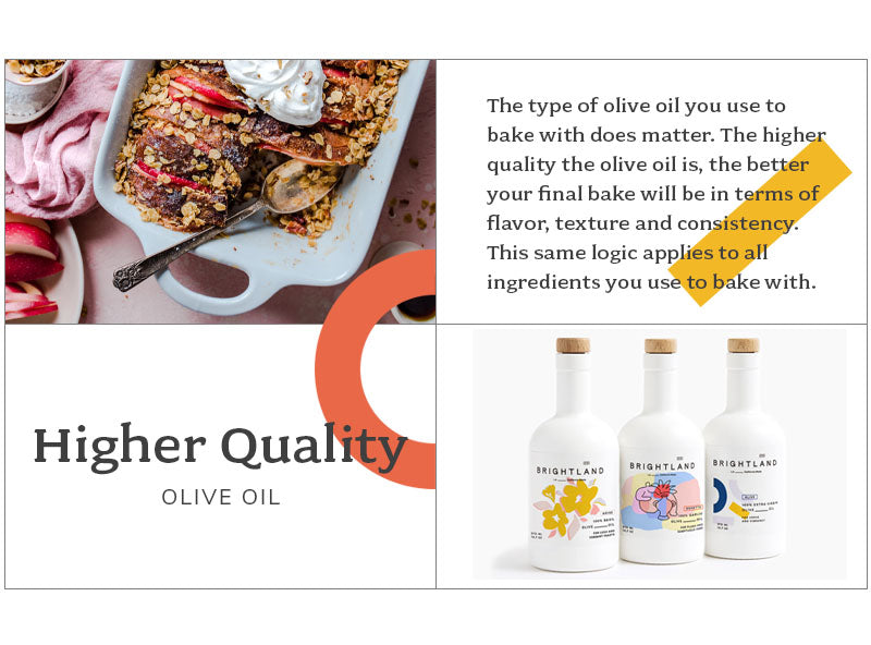 higher quality olive oil
