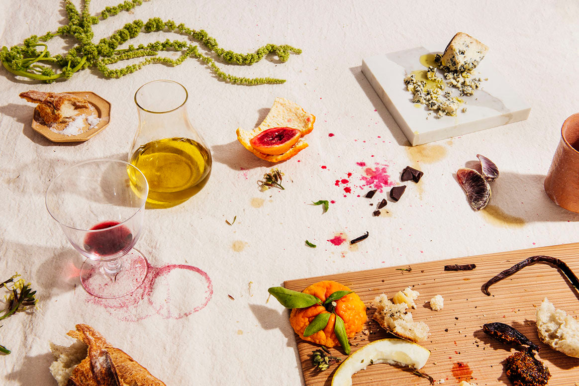 olive oils and foods