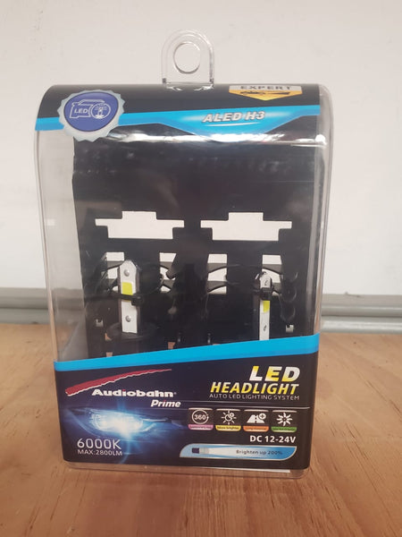 KIT FOCOS LED H3 AUDIOBAHN 600OK