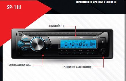 ESTEREO SPEED SP11U