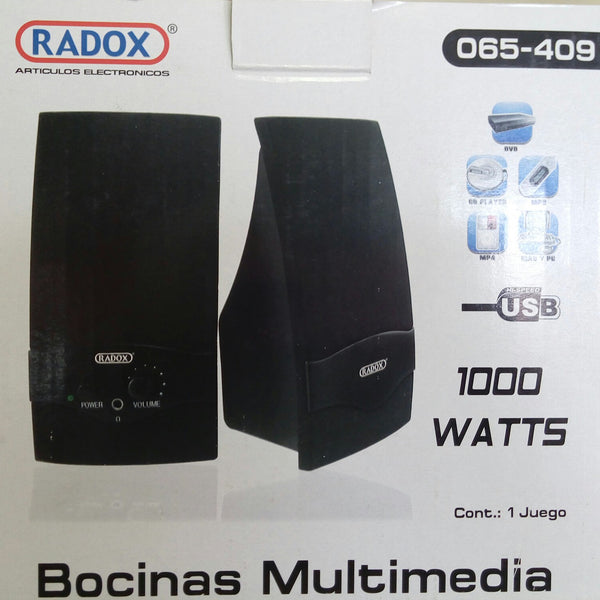 JGO DE BOCINAS MULTIMEDIA C/ENT USB P/PC,CD,MP3 .