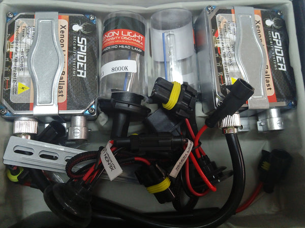 KIT XENON SPIDER H13 6000K