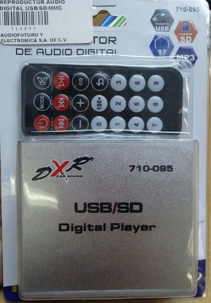 REPRODUCTOR AUDIO DIGITAL USB/SD/MMC CONTROL REMOTO 710095