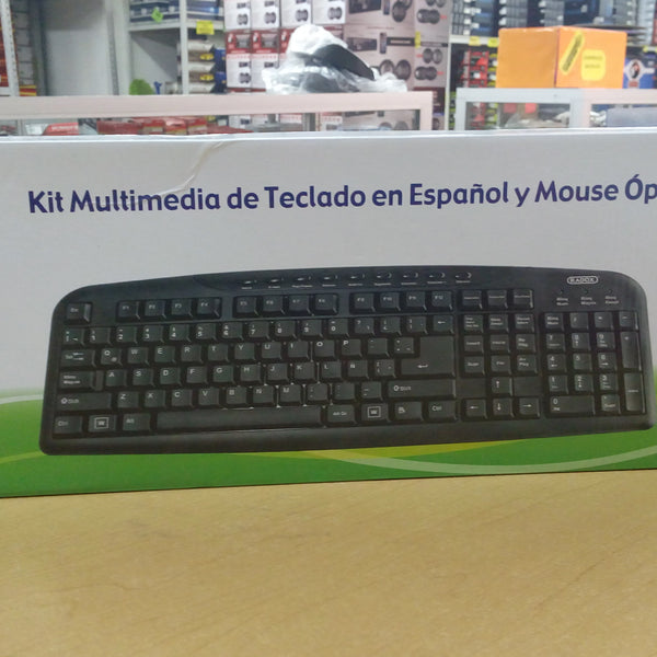 KIT DE TECLADO CON MOUSE ELECTRONICO