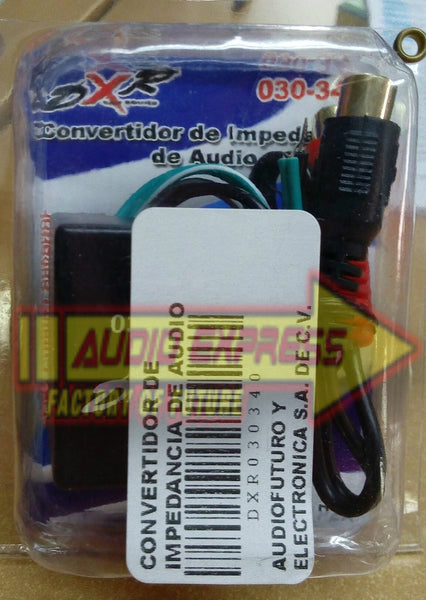 CONVERTIDOR DE IMPEDANCIA DE AUDIO