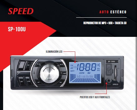 ESTEREO SPEED SP100U