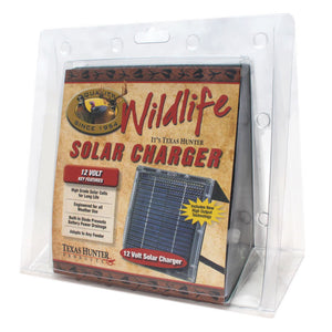 12 Volt Solar Charger for Wildlife Feeders