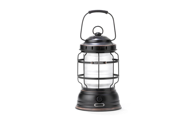 Barebones Living - Forest Lantern - Antique Bronze