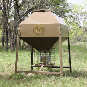 Broadcast Deer Feeders Texas Wildlife Supply TWS Feeders