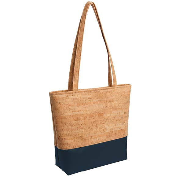 Natalie Therese - Be Basic Tote Bag, Rustic Cork
