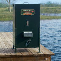 250 lb. Lake & Pond Fish Feeder with Straight Legs