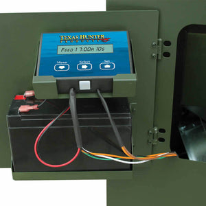 TEXAS HUNTER PREMIUM DIGITAL TIMER FOR DIRECTIONAL FISH FEEDERS