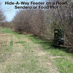 300 lb. Hide-A-Way Stand & Fill Directional Wildlife Feeder
