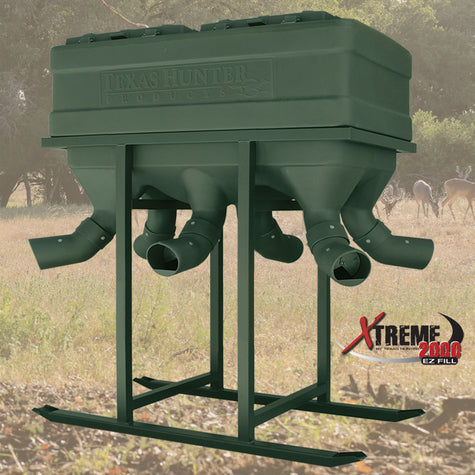 Texas Hunter Products - 2000 lb Xtreme Protein Feeder