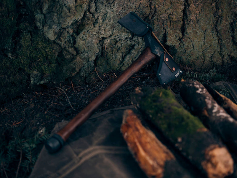 Barebones Living - Pulaski Axe with Canvas Sheath