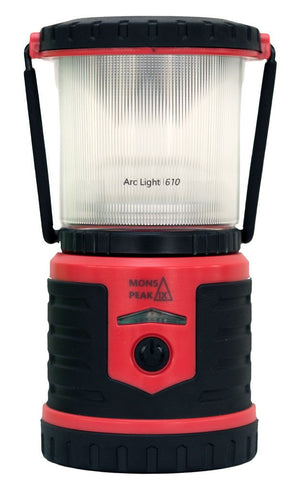 Mons Peak IX ArcLight 610 Rechargeable LED Lantern Triangulum Sports & Outdoor