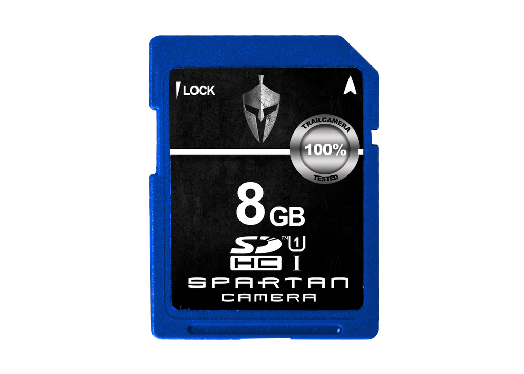 SPARTAN CAMERA SD CARD