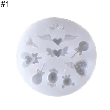 Silicone Mold  DIY Resin Decorative Craft Jewelry Making Mold Epoxy Resin Molds