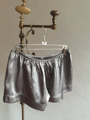 Silk Sleep Shorts