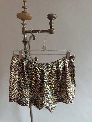 Silk Charmeuse Sleep Shorts