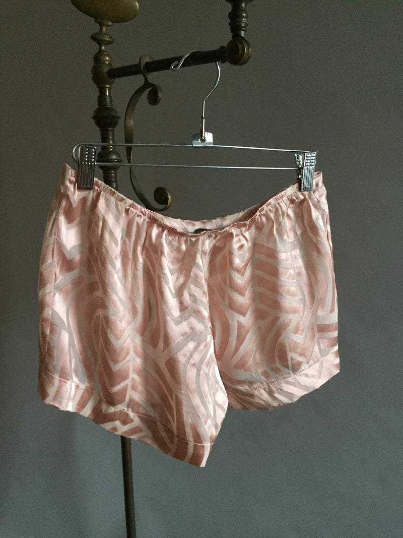 Silk burnout Sleep shorts