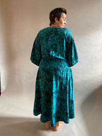 Heavyweight Silk Crepe de Chine Dressing Gown