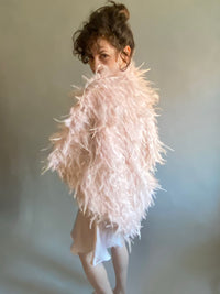 Party Feather Shrug