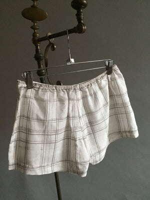 Silk/Cotton Sleep Shorts