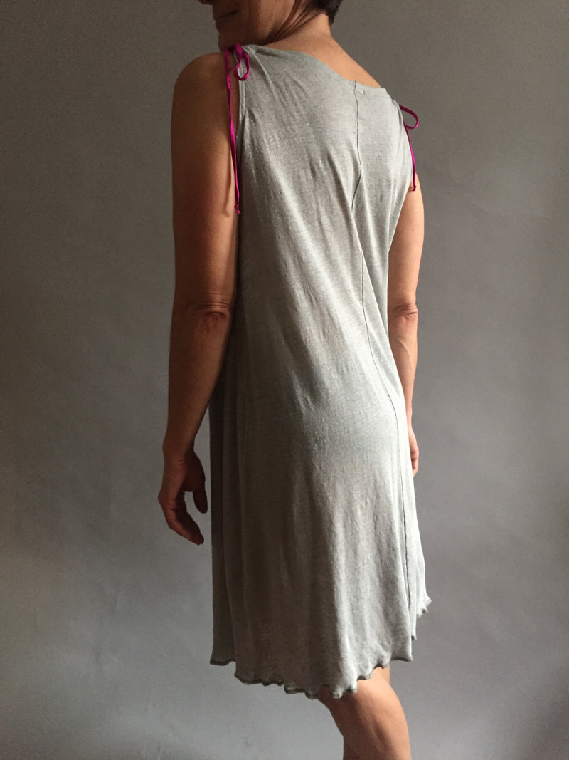 Sage Green Linen knit nightgown