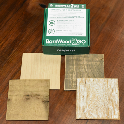 Samples  -  Weathered Collection - BarnWood2GO